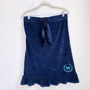 VS | Terrycloth Blue Swim Coverup